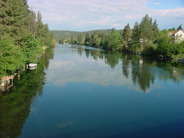 Spokane River Photo